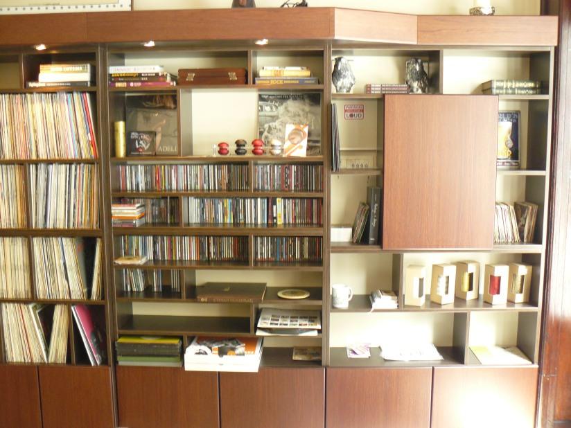 Полице за плоче и књиге у Леили