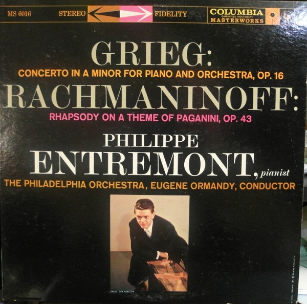 Entremont Rhapsody on a Theme front
