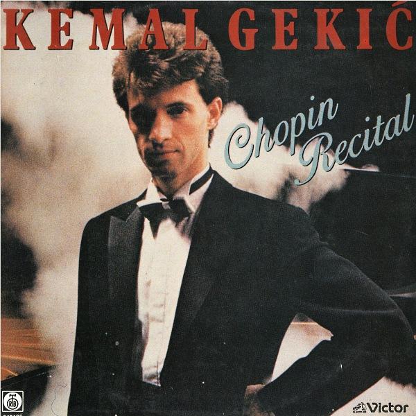Kemal Gekić Chopin Recital front